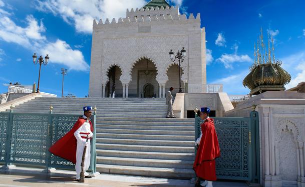 El mausoleo Mohammed V