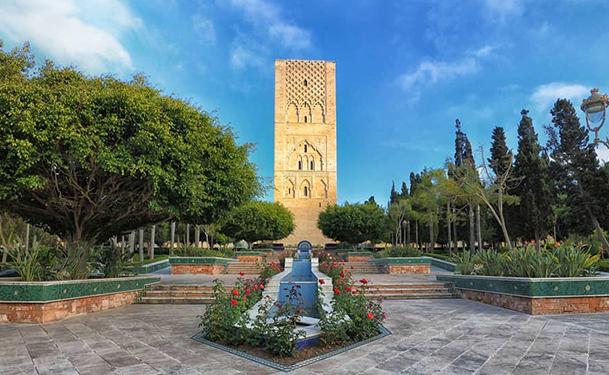 Jardin de la Tour Hassan