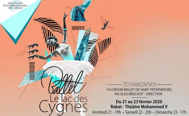 Le ballet Lac des Cygnes