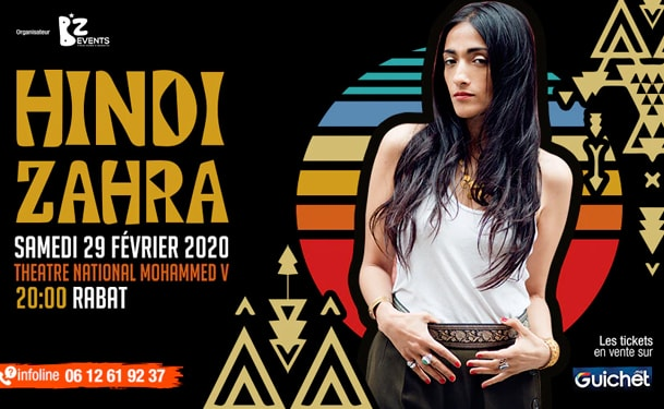 Hindi Zahra en concert à Rabat