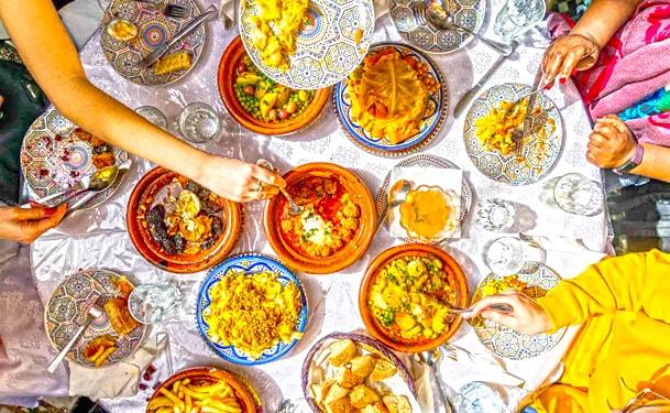 Food Tasting dans la médina de Rabat