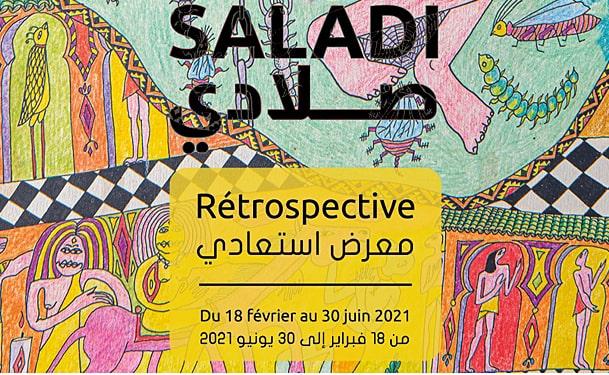 Rétrospective du peintre Abbès Saladi